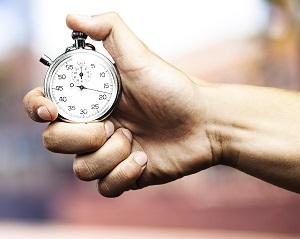 Измеряется время, затраченное на процесс производства