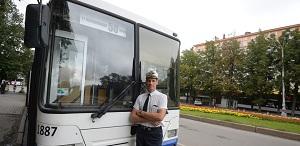 На рейсовых автобусах большая ответственность