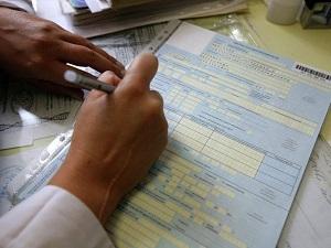 Заявление пишут на основании больничного