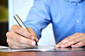 Заявление можно написать или отправить почтой