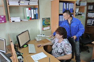 Проверка условий труда