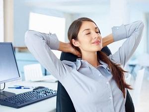 При работе за компьютером следует отдыхать